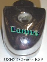 "USH22CP 1/2"" Top Inlet Heart Urinal Spreader"